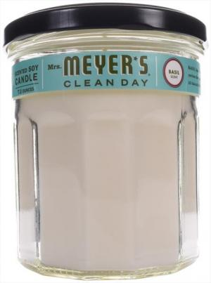 Mrs. Meyer's Basil Scented Soy Candle
