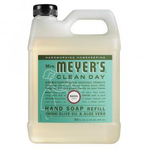 Mrs. Meyer's Basil Scented Liquid Hand Soap Refill