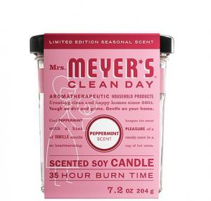 Mrs. Meyer's Peppermint Scented Soy Candle