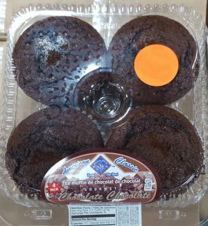 American Classic Chocolate Chocolate Muffins