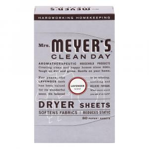 Mrs. Meyer's Dryer Sheets Lavender Scent