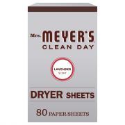 Mrs. Meyer's Dryer Sheets Lavender Scent