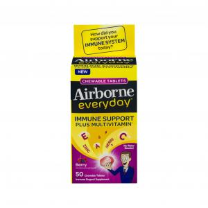 Airborne Everyday Berry Chewable Tablets Immune Support