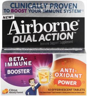 Airborne Dual Action Tablets