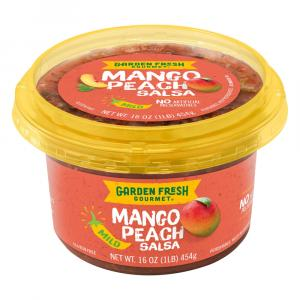 Garden Fresh Gourmet Mango Peach Salsa