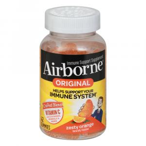Airborne Original Gummies Orange Flavor