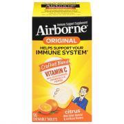 Airborne Chewable Tablets Citrus