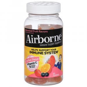 Airborne Original Gummies Assorted Fruit Flavors