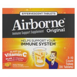 Airborne Orange Tablets