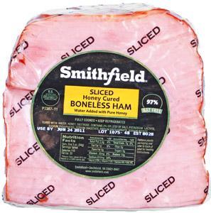 Smithfield Quarter Sliced Honey Ham