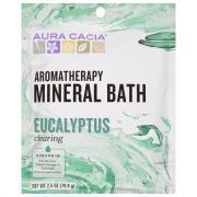 Aura Cacia Eucalyptus Harvest Aromatherapy Mineral Bath Salt