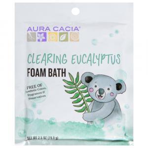 Aura Cacia Foam Bath Clearing Eucalyptus