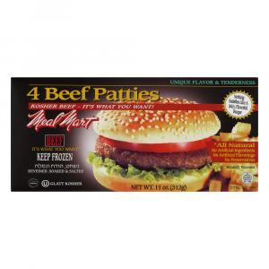 Meal Mart Beef Patties
