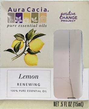 Aura Cacia Lemon Pure Essential Oil