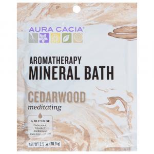 Aura Cacia Meditating Cedarwood Mineral Bath