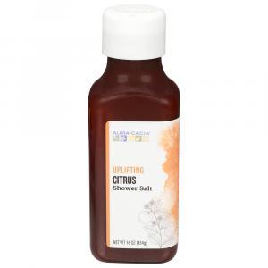 Aura Cacia Uplifting Citrus Shower Salt
