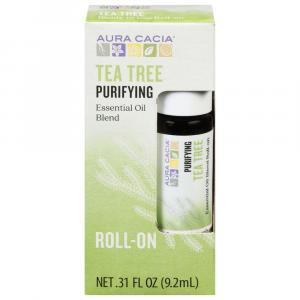 Aura Cacia Essential Oil Blend Tea Tree Roll-On