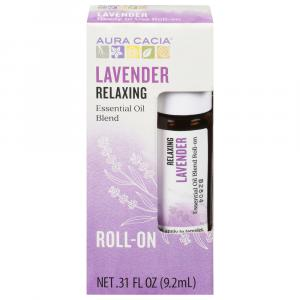 Aura Cacia Essential Oil Lavender Roll-On