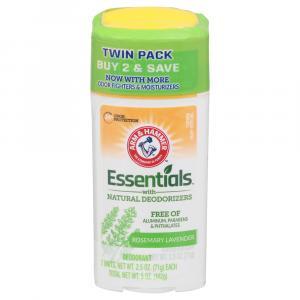 Arm & Hammer Essentials Fresh Deodorant Twin Pack