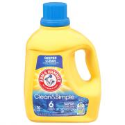 Arm & Hammer Clean & Simple Laundry Detergent Crisp Clean