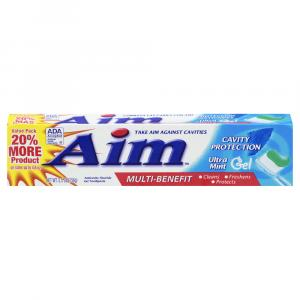 Aim Cavity Protection Ultra Mint Gel Toothpaste