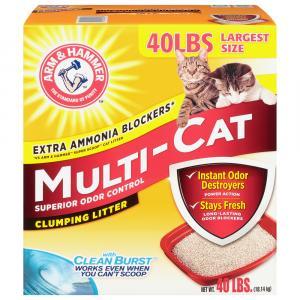 Arm & Hammer Multi Cat Litter