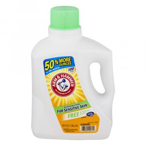Arm & Hammer 2x Perfume & Dye Free Liquid Detergent