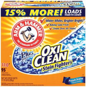 Arm & Hammer Fresh Scent + Oxiclean Powder Detergent