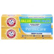 Arm & Hammer PeroxiCare Healthy Gums Twin Pack Toothpaste