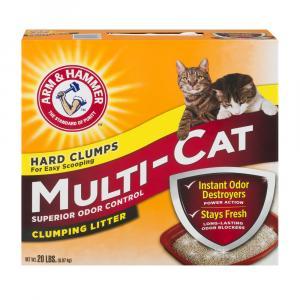 Arm & Hammer Multi Cat Hard Clumps Litter