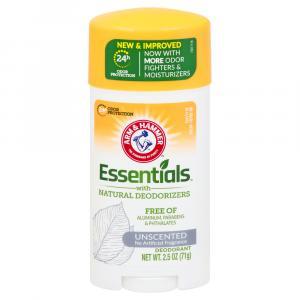 Arm & Hammer Essentials Naturally Unscented Deodorant