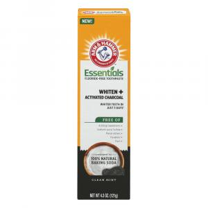 Arm & Hammer Essentials Whiten + Activated Charcoal