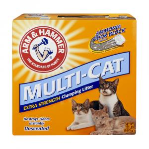 Arm & Hammer Multi Cat Unscented Litter