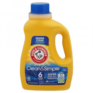 Arm & Hammer Liquid Laundry Clean and Simple