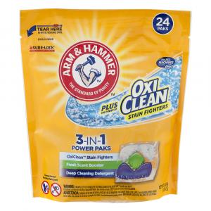Arm & Hammer Plus Oxi Clean 5 in 1 Fresh Scent Power Paks