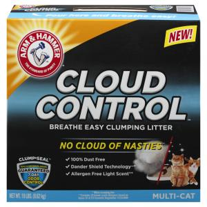 Arm & Hammer Cloud Control Clumping Cat Litter Multicat