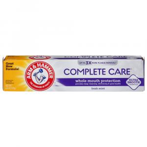 Arm & Hammer Complete Care Plus Extra White Toothpaste