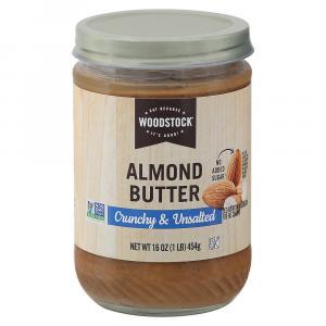 Woodstock Farms Crunchy Almond Butter