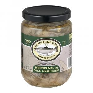 Blue Hill Bay Herring in Dill