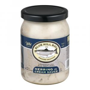 Blue Hill Bay All Natural Herring In Cream