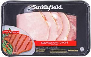 Smithfield Bone-in Smoked Pork Loin Chops