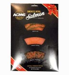Acme Pre Sliced Smoked Nova Salmon