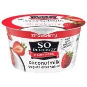So Delicious Coconut Milk Strawberry Yogurt