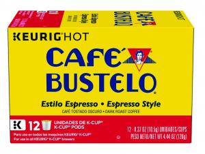 Cafe Bustelo Espresso Style K-Cups