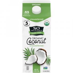 So Delicious Organic Unsweetened Coconut Milk