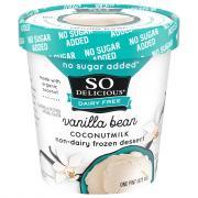 So Delicious Dairy Free No Sugar Added Vanilla Bean