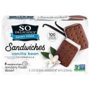 So Delicious Coconut Milk Vanilla Bean Sandwiches