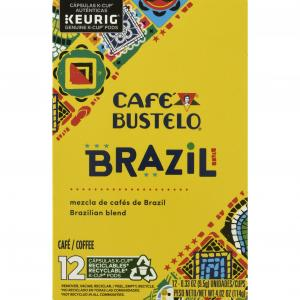 Cafe Bustelo Brazilian Blend Ground Coffee K-Cups