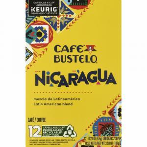 Cafe Bustelo Nicaragua Blend Ground Coffee K-Cups