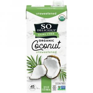 So Delicious Dairy Free Coconut Milk Unsweetened